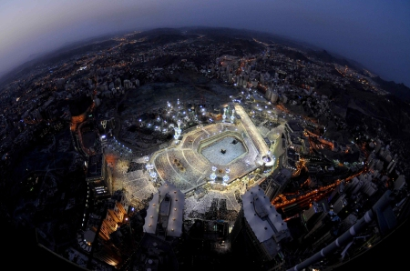 An Aerial View of Makkah