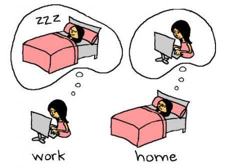 Work vs. Home - © Mitra Farmand